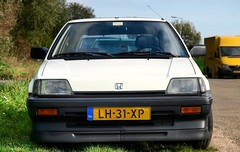 Honda Civic 3D 1.3 Luxe (Skylark92) Tags: nederland netherlands holland noordholland northholland amsterdam noord north schellingwoude honda civic 3d 13 luxe onk origineel nederlands kenteken lh31xp 1984