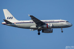 SAS Scandinavian Airlines --- Airbus A319 --- OY-KBO (Drinu C) Tags: adrianciliaphotography sony dsc rx10iii rx10 mk3 mla lmml plane aircraft aviation special retro sas sasscandinavianairlines airbus a319 oykbo