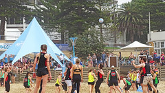 NetBall_2 (Tony Markham) Tags: beachnetball beach netball sport illawarra wollongong seniors northbeach gordonbradbery lordmayor wollongongcouncil