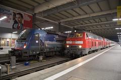 ÖBB 190 019 + DB 218 403 München Hbf (daveymills37886) Tags: öbb 190 019 db 218 403 münchen hbf 1216 baureihe munich