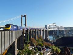 43165 Royal Albert Bridge (Marky7890) Tags: gwr 43165 class43 hst 1a81 royalalbertbridge railway saltash cornwall cornishmainline train