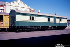 3766 ZJ266 Geraldton Railway Station 5 June 1983 (RailWA) Tags: railwa philmelling westrail geraldton 1983 zj266 railway station