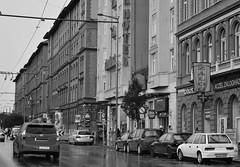 Street in Budapest (emina.knezevic) Tags: budapest capitalsofeurope capitalcity architecture architecturephotography streets streetphotography nikon nikond3200 nikonphotographer blackandwhite