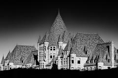 L'ancienne gare Viger (Duric) Tags: architecture noiretblanc blackandwhite noireetblanc blancoynegro montreal quebec turrets chateau castle station hotel