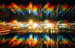 MacDonald's          003 (DMT@YLOR) Tags: macdonalds goodna fireworks fireworksglasses spectacular multicolour multicoloured red green blue black yellow orange outside outdoor lights 3d vision night light art pink christmas experiment camera canon town spring laser