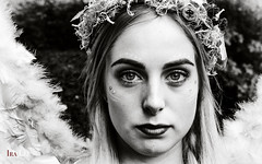 _UG89094BEABW (Ira Lee) Tags: portrait elfia arcen netherland holland people blackwhite bw sw bn bianco noir schwarz white elfia2018 angel engel monochrome bianconero