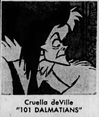 Cruella DeVille / Cruella De Vil (The Mandela Effect Database) Tags: cruella deville de vil residual evidence presented by mandela effect database mandala mandelaeffect research residue 101 dalmations