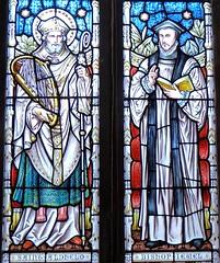 Swanage - St Mary's Parish Church (Glass Angel) Tags: stainedglasswindows stainedglass swanage stmarythevirgin church abbotandco stmarysparishchurch music dorset uk