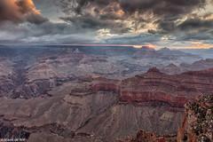 Grand Canyon (aland67) Tags: landscape sunrise clouds grandcanyon south rim arizona longexposure nationalpark outdoor leend09hard alanddewit travel