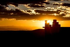 Sunset from Talout, Skoura (© Laurent Sicard Photographie) Tags: maroc morocco sunse coucher de soleil couleur colors orange clouds nuages landscape paysage canon eos 6d