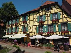 Alsace - Ribeauvillé (madbesl) Tags: ribeauvillé elsas elsass alsace frankreich france europa europe hautrhin fachwerk altstadt oldtown city stadt town olympus omd em10 m10 omdem10 zuiko1250