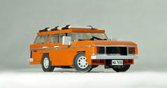 1977 Ford Granada Mk1 (01) (Mateusz92) Tags: lego moc afol zbudujmy car ford granada mk1