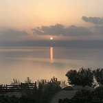The Sunset in the Promised Land, the Dead Sea Marriott Resort & Spa, Jordan. thumbnail