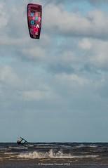 V  E  G  A []  S (frattonparker) Tags: btonner lightroom6 nikond810 raw tamron28300mm frattonparker englishchannel kite surfing