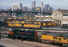 A different Omaha (Moffat Road) Tags: unionpacific up shops locomotive locomotiveshop omahashops westernpacific wp gp40 3503 omaha nebraska railroad ne