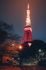 Tokyo tower by night, Tokyo Japan (Patrick Foto ;)) Tags: aerial architecture asia attraction autumn background blue building city cityscape communication construction deck destination district dusk fall famous high japan japanese landmark light metropolis modern night observation orange paris place red road sky skyline skyscraper street tall tokyo tourism tourist tower trail travel tree twilight urban view ward tokyoprefecture jp