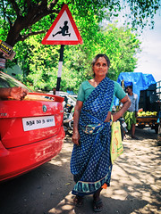 Kana. (Prabhu B Doss) Tags: prabhubdoss travelphotography fujifilm gfx50s gf3264mm portrait usilampatti madurai woman paati india saree village