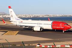 LN-NGW_01 (GH@BHD) Tags: lnngk boeing 7378jp 737 738 b737 b738 737800 dy nax d8 ibk norwegianairshuttle norwegianairinternational aviation aircraft airliner ace gcrr arrecifeairport arrecife lanzarote