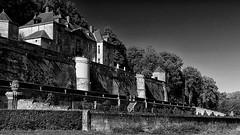 Château Neercanne (jo.misere) Tags: château neercanne kateel neerkanne bw zw