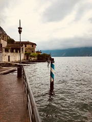 Limone sul Garda (sebastianhillemann) Tags: nature naturephotography iphone italy limone clouds landscape lake lago landscapephotography water bay sea building mountain sky seascape