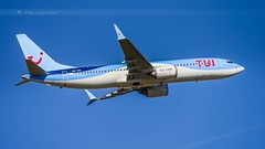 TUI FLY B737 MAX 8 (lavierphilippephotographie) Tags: tuifly 737 b737 b737max8 plane airplane aircraft airline airliner cdg roissy roissycharlesdegaulle avgeek spotter planespotter boeing longhaul longcourrier