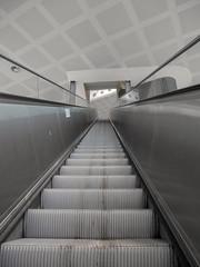 stairway . . . to heaven? (wezetauswe) Tags: lumix gf7 mft stairway stiege rolltreppe