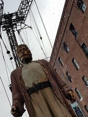 Giant (cn174) Tags: liverpool liverpoolgiants giants liverpoolsdream giantspectacular merseyside albertdocks canningdock dog xoxo babyboy littlegirl
