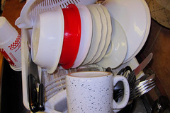 Afterparty (Guyser1) Tags: dishes utensils westyellowstone pointandshoot canonpowershots95