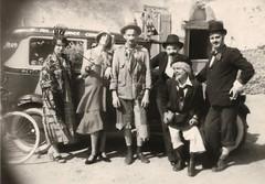 Des participannts à la fête de la Saint-Louis à Acigné