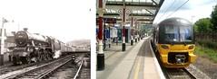 Skipton 50 years on – Beware of Trains… (Robin Summerhill) Tags: settle carlisle hellifield br british railways steam 1967