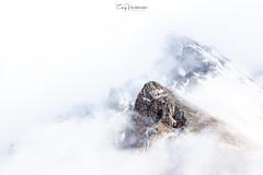 The Mist (Huch5150) Tags: banff canada alberta mountain snow storm mist fog nature heaven rockymountains highwoodpass kananaskis weather