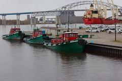 Three Tugboats (ironmike9) Tags: boat vessel tugboat tug lakesuperior greatlakes lake duluthmn harbor port water
