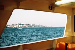 (life in a tupperwear) Tags: boat river ferryboat lisbon tejo analogue 35mm