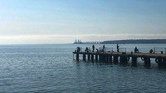 (The Man-Machine) Tags: cropped edited snapseed bridge fishing