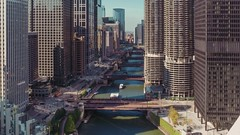 Chicago River (Jovan Jimenez) Tags: timelapes sony a6500 zeiss 12mm touit distagon londonhouse skyline chicago river bridge alpha ilce hdr video motion marina towers skyscraper ohc ohc2018