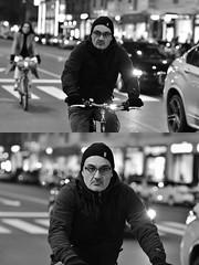[La Mia Città][Pedala] (Urca) Tags: milano italia 2018 bicicletta pedalare ciclista ritrattostradale portrait dittico bike bcycle nikondigitale scéta biancoenero blackandwhite bn bw 115847