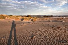 Hi..... (flying-leap) Tags: northcanterbury nz ashleyrakahuriestuary southisland beach spring cloudsstormssunsetssunrises clouds coastline coast coastnz ripples scavenger3 sand tussock anshround91 shadow mountgrey sony rx10m4