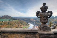 vordergründig (wolf238) Tags: königstein festung fortress vase stone fels view festungkönigstein sächsischeschweiz