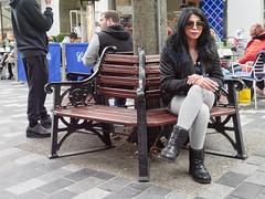 Barrett Street. 20181104T12-45-25Z (fitzrovialitter) Tags: england gbr geo:lat=5151484000 geo:lon=015003000 geotagged marylebonehighstreetward unitedkingdom westendoflondon peterfoster fitzrovialitter city camden westminster streets urban street environment london fitzrovia streetphotography documentary authenticstreet reportage photojournalism editorial daybyday journal diary captureone olympusem1markii mzuiko 1240mmpro microfourthirds mft m43 μ43 μft ultragpslogger geosetter exiftool smoking wooden bench cigarette girl portrait streetportrait candid streetcandid candidstreet candidportrait
