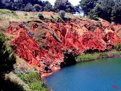 Vista - View (rocco944) Tags: rocco944 otranto lecce puglia italy illagodibauxite excavadibauxite samsungsma320fl salento