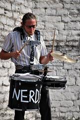 Nerdy drummer (Els Herten) Tags: portrait musician drummer drum city evere brussels belgium natgeofacesoftheworld word people