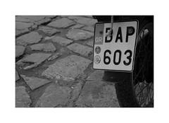 BAP603 (CJS*64) Tags: blackwhite bw blackandwhite whiteblack whiteandblack mono monochrome skiathos greece travel traveller travelling cjs64 craigsunter cjs motorbike moped nikon nikond7000 d7000