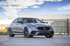 612 HP in a Sedan.. (NoortPhotography) Tags: mercedes mercedesbenz mercedesamg amg v8biturbo v8 ceramicbrakes satin paint edition one carbon 612 horsepower supersedan affalterbach jdcustoms autogespot blackedout dechrome