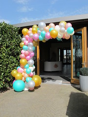 organic arc balloons