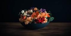 Vase & Flowers (armandocapochiani) Tags: vase flowers bouquet centerpiece stilllife long exposure italy bride colors