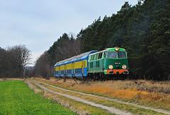 SU45-116 z ostatnim pociągiem z Góry Śląskiej (Kospal) Tags: train locomotive railroad su45 su45116 góra śląska boryszyn mały dolnośląskie