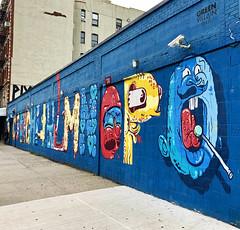 Alphabet City (wiredforlego) Tags: graffiti mural streetart urbanart aerosolart publicart eastvillage manhattan newyork nyc greenvillain sheryo yok steiner roachi kevinlyons victorving buffmonster alphabet