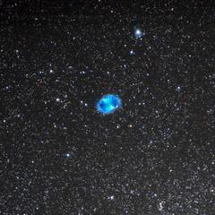 M27 (Nebulosa Dumbbell) (Alfredo.Ruiz) Tags: canon 5d sigma 150600 nebulosa dummbbell m27 noche entzia opakua alava