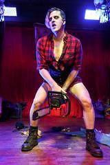 Feel the power (Vera Wylde) Tags: flannel burlesque chainsaw genderqueer genderfluid cross dress dresser dressing crossdress crossdresser crossdressing transgirl tgirl tgurl transgender transvestite cd tv ts tg sissy