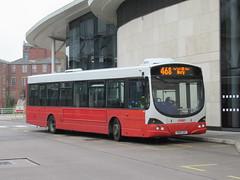 Rosso 1601 (YN05GXT) 14082018 (Rossendalian2013) Tags: transdevblazefield transdev rossendaletransport rosso bus rochdale interchange busstation scania wright solar l94ub yn05gxt readingbuses